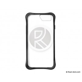 Flexible shell iPhone 6 transparent plate black