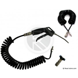Cleaning Kit : Air Duster Gun + Spiral Extension 10 m