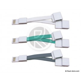 Flat Cable Connexion USB 2.0 to 2 USB 2.0