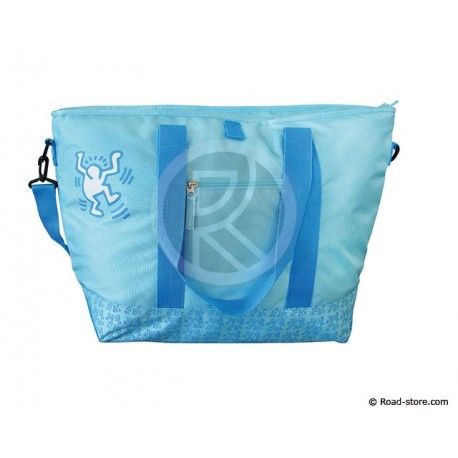 "SAC ISOTHERME 24L TURQUOISE MODELE COURSES ""COOLNESS"""