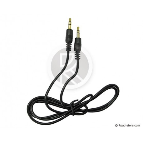 Auxiliary Cable - Double Jack 3.5mm