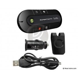 Hands-free Bluetooth Kit Version 2.1 Supertooth Buddy Black