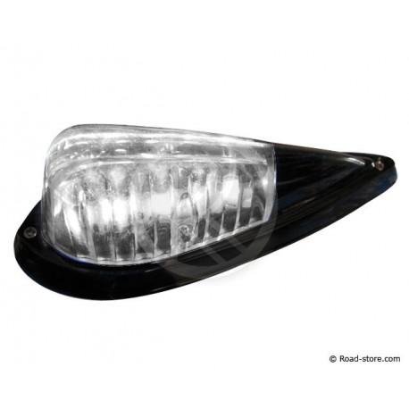 Licht DROP 5 LEDS 24V Schwarz/Weiß