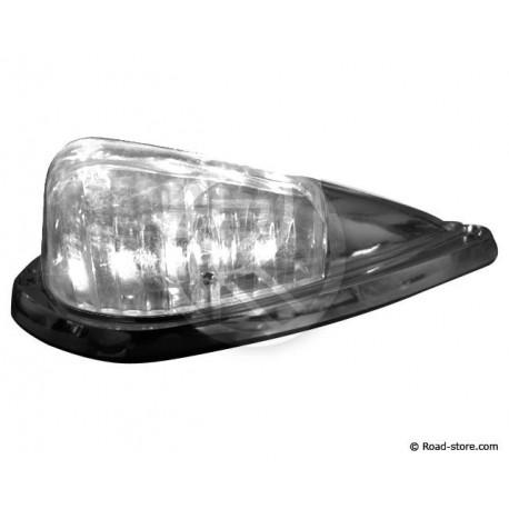 """Licht """"DROP"""" 5 LEDS 24V Weiß / Chrome"""