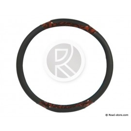 "Truck steering wheel cover Walnut imitation 44-46 ""new design"""