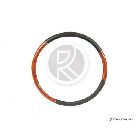 Truck steering wheel cover Walnut imitation 49-51