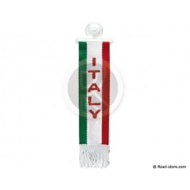 "FANION CABINE A FRANGES ""ITALY"" 5 x 22 CM"