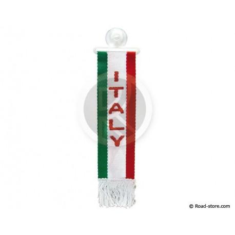 "FANION CABINE A FRANGES ""ITALIA"" 5 x 22 CM"