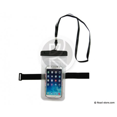 "Waterproof pouch iPHONE 6/6Plus/SAMSUNG S4/S5 (5,5"") 6,8 x 12,2cm"