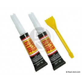 COLLE SUPER GLUE 3G X 2 + MINI SPATULE
