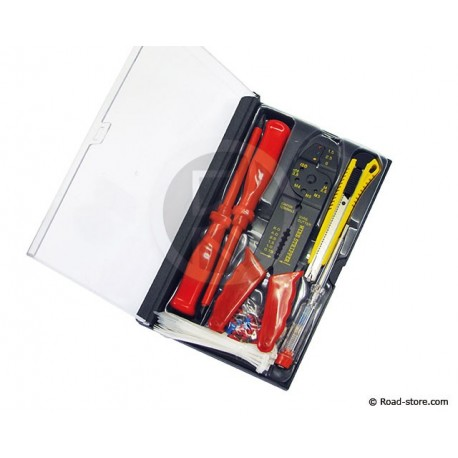Electrician tool box 64 pcs
