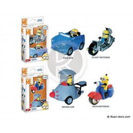 Figure minion vehicle 1/43e 2 pieces