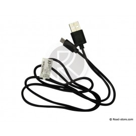 Cable USB to micro USB white, blue, black, red