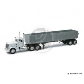 CAMION SEMI 1/32e PETERBILT MODEL 379 FRAMELESS DUMP