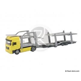 Truck 1/43e Trailer MAN F 2000 Auto Transport empty