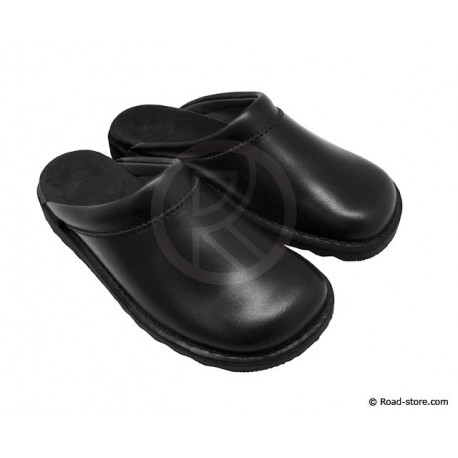 Leather Clogs T.44