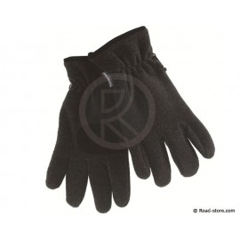 Microfiber fleece gloves thinsulate + reinforcing black palm T.8,5