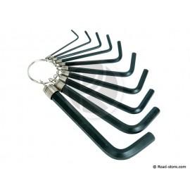 Inbusschlüssel 1 bis 10 mm 10x