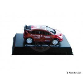 VOITURE 1/64e CITROEN C4 WRC / XSARA