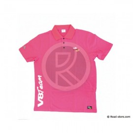 """POLO V8 TEAM """"CLASSIQUE"""" XL Rosa"""