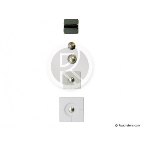 Ersatz kit TETRAX 5 Stück Weiß