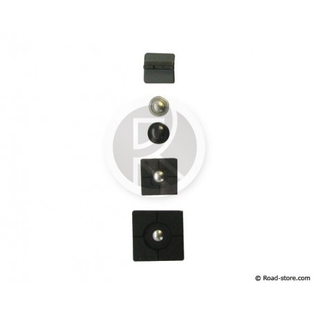 Ersatz kit TETRAX 5 Stück black