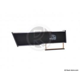 Table Iveco Stralis Hi-Way Until 2013 Long + Drawer Black