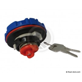 Locking fuel cap DAF/MAN/MERCEDES with 2 keys