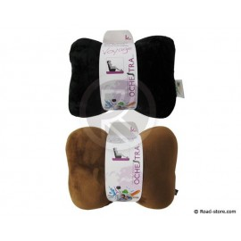Headrest micro beans pillow black or brown