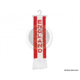 """FANION CABINE A FRANGES """"ENGLAND"""" 5 x 22 CM"""