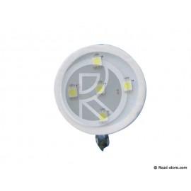SUPPORT ADH. LUMINEUX DECO POPPY 5 LEDS BLANC 24V