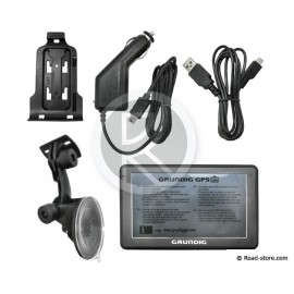 "GPS VL GRUNDIG M5 46 PAYS EURO ECRAN 5"""