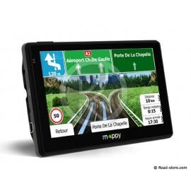 "GPS TRUCK MAPPY ULTI X565 44 PAYS EURO ECRAN LCD 5"" CARTE A VIE"