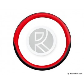 Steering Wheel cover 42-44 CLUB PREMIUM Black/Red