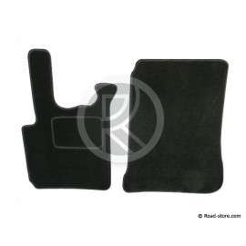 Carpet front DAF 95 CF black