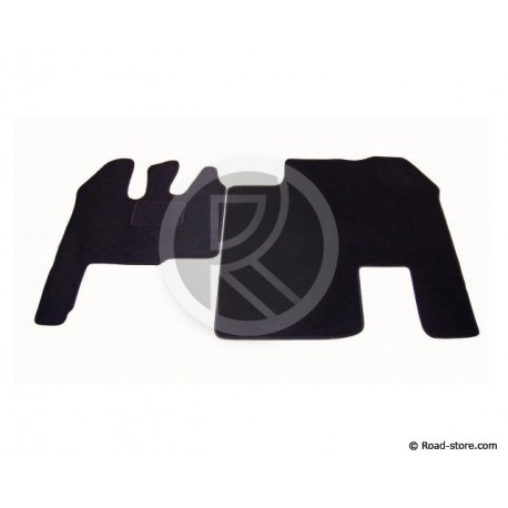 Carpet front Renault AE fixed seat