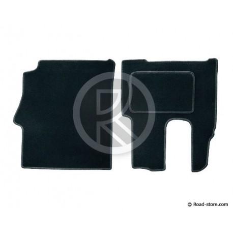 Front Mat Mercedes Actros MEGASPACE Since 2012 BLACK