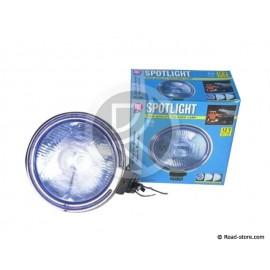 Headlight long range Big model 24V H3 70W blue with krone
