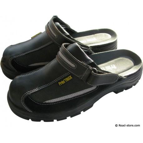 Safety Sandals Size 40 Black