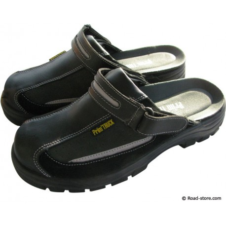 Safety Sandals Black Size 43