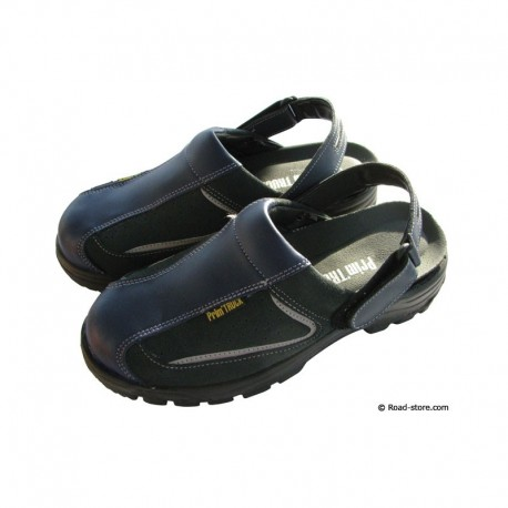 Safety sandals blue size 45