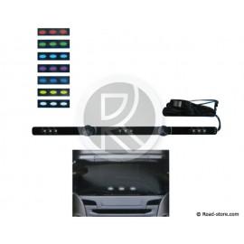 Decoration bar extra flat multicoloured 50cm 9 LEDS 10-30V