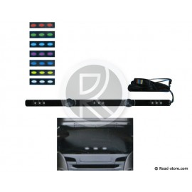 Decoration bar extra flat multicoloured 50cm 9 LEDS 10-30V