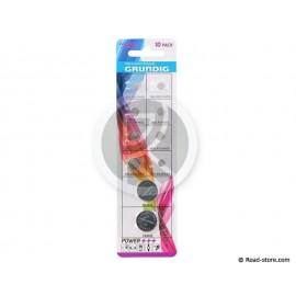 PILE BOUTON ALKALINE/LITHIUM PACK DE 10 MODELES GRUNDIG POWER+++