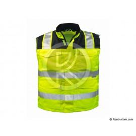 VESTE SANS MANCHES XL HAUTE VISIBILITE JAUNE ISO 20471 (Gregor)