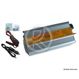 CONVERTISSEUR 300W 12V/230V DC/AC (PRISE NF) + PORT USB 5V PRIM'TRUCK