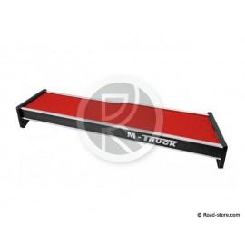 Doppelablage für Kabine Man TGX bis 2014 Long + Schublade skai Rot
