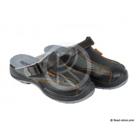 Safety Sandals Black Size 40