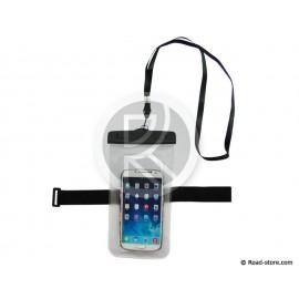 """POCHETTE ETANCHE iPHONE 4/4S/5/5S/5C (4"""") 5,1 x 9cm LANIERE AJUSTABLE"""