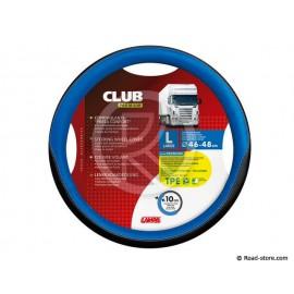COUVRE-VOLANT 46-48 CLUB PREMIUM NOIR/BLEU